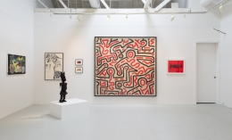 """Installation view of """"Flaming June VII (Flaming Creatures)"""""""
