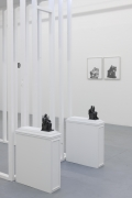 """Installation view of Yuval Pudik's """"Such, Such Were the Joys"""""""