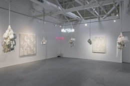 "Installation view of ""Let Her Rave"""