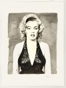 Marilyn, 2014, Watercolor on paper