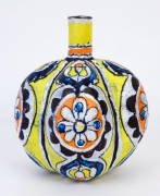 Elisabeth Kley Yellow Lobed Bottle, 2014