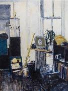 Milk (Apartment of Jean-Michel Basquiat, East 12 Street, New York, 1979), 2018, Oil on canvas