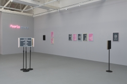 "Installation view of ""Absurdist Logic"""