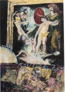 23 Quai Voltaire, Paris Apartment of Rudolf Nureyev, 2018, Oil on canvas