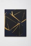 Lecia Dole-Recio Untitled (bl.ppr.blk.dmnds.gld.lns.), 2015