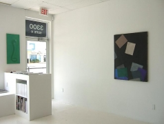 "Installation View ""Didactic Sunset"""
