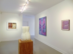 David Haxton, Amy Bessone, Lily Stockman, and Andrew Brischler on view during Judith Eisler Gloria(from Left to Right)