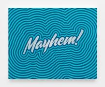Mayhem Study (Aqua Throb), 2018