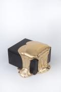 Nancy Lorenz, Red Gold Box, 2019