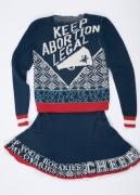 Cheer for Choice, 2007 Merino wool