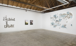 Rob Wynne: The Backstage of the Universe Install, GAVLAK Los Angeles