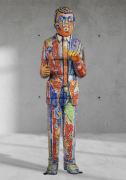 Viola Frey Blow Man, 1988-89