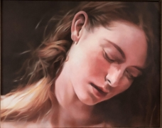 Magdalena (close up), 2018, Oil on canvas