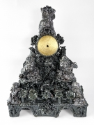 Anthony Sonnenberg Clock with Owl, 2020