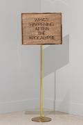 Maynard Monrow Untitled / Apocalypse (Gold/Gold), 2020