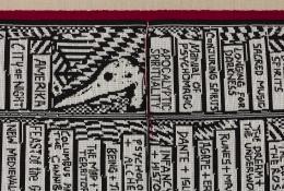 Detail view Lisa Anne Auerbach Altered States, 2018