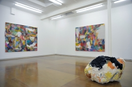 Installation view, Alexis Teplin, He, Ho, HA, hmmm..., 2013