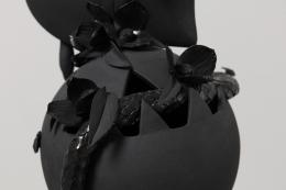 Detail,Black Heart, 2017,