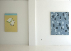 Installation view Didactic Sunset, 2008