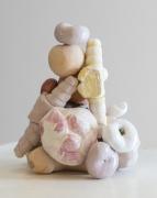 Alexis Teplin, peaches and pane, 2014