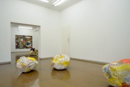 Installation view, Alexis Teplin 'He, Ho, HA, hmmm...', Mary Mary, Glasgow 2013