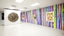 """Installation View """"The Golden Butterfly"""""""