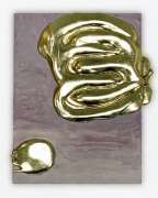 Nancy Lorenz, Lemon Gold Pour, 2017-2019