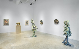 Installation view (The Space just Between)2021.