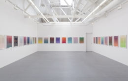 "Installation view of Andrew Brischler ""Lonely Planet"""