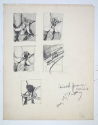 Betty Tompkins Fuck Drawing #7, 1972