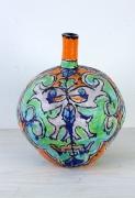 Elisabeth Kley, Lime Leaf Face Bottle, 2009