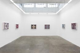 Karen Carson: Middle Ground, Installation view, GAVLAK Los Angeles, 2021