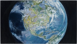Keith Mayerson, North America from Space, 2012