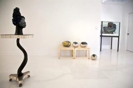 """Installation View """"What's Her Face"""""""