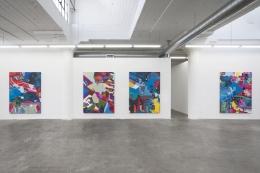 Installation view Candida Alvarez:Palimpsest (2021)