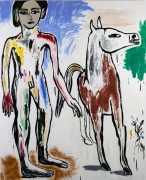 Boy Leading Horse