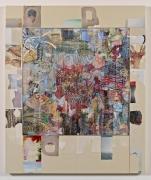 Elliott Hundley, Still Life with Lotus