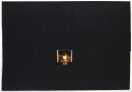 Toba Khedoori, Untitled (Black fireplace)