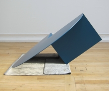 Gabriel Kuri, Untitled (3/4 blue)