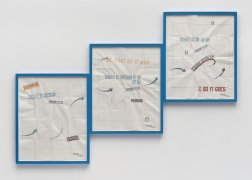Lawrence Weiner, 1 2 3