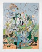 Elliott Hundley, Composition Green