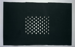Toba Khedoori, Untitled (Black Windows)