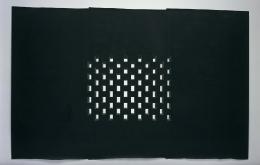 Toba Khedoori, Untitled (Black Windows)