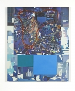 Elliott Hundley, Composition Blue