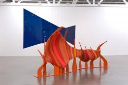 Liz Larner, Corridor (Orange/Blue)