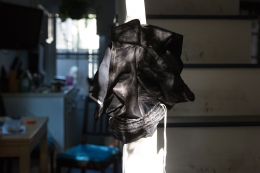 Wolfgang Tillmans - shorts on banister