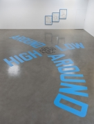 Lawrence Weiner, AROUND & AROUND HIGH & LOW