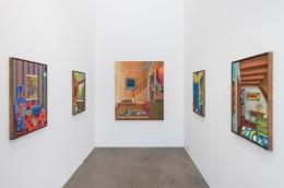 Installation view ofMoon Salon, October 14 - November 13, 2021