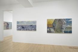 Keith Mayerson,Good Leaders, Endangered Species, Ships at Sea, Pt. II, installation view atDerek Eller Gallery, New York