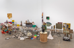 Nancy Shaver, Max Goldfarb, Sterrett Smith, Wolf Tones II, 2020, dimensions variable